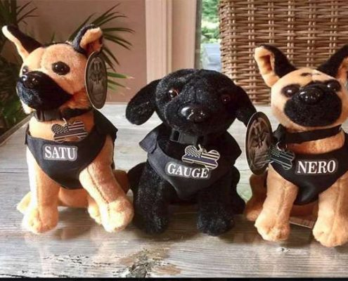 Nero Stuffed Dogs