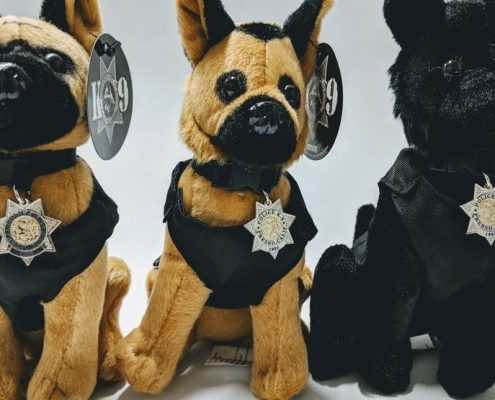 Fresno Police sells Plush Dogs