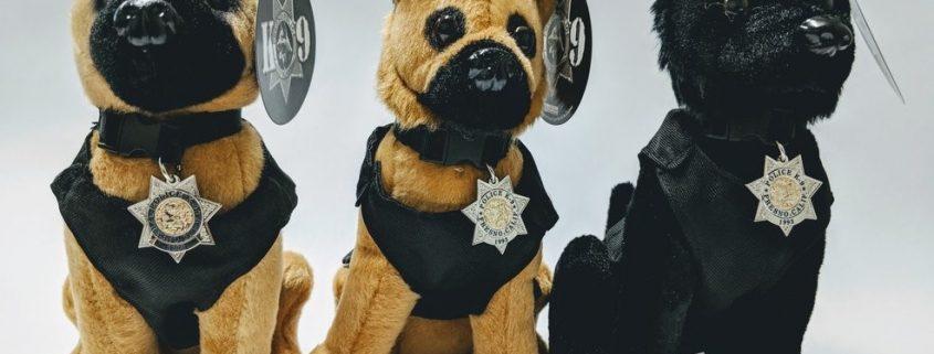 Fresno Police sells Plush Dogs